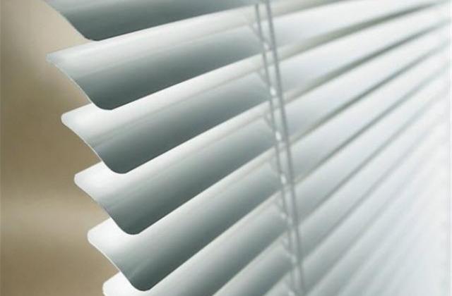 linea institucional en persiana de aluminio